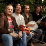 Die Gründungsmitglieder: Alan Doherty, Jan Oelmann, Nico Schneider und Steffen Knaul