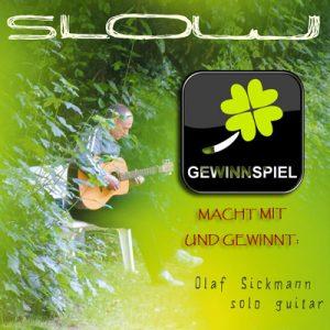 """Zu gewinnen: """"Slow"""" von Olaf Sickmann"""