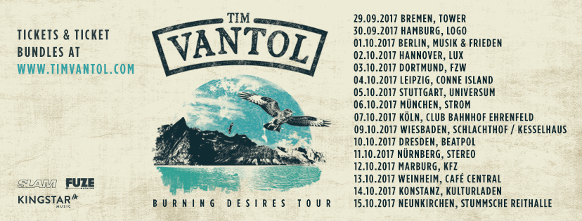 Tim Vantol - Burning Desires (2017)