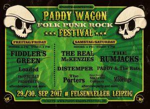 Paddy Wagon Festival 2017 im Felsenkeller, Leipzig